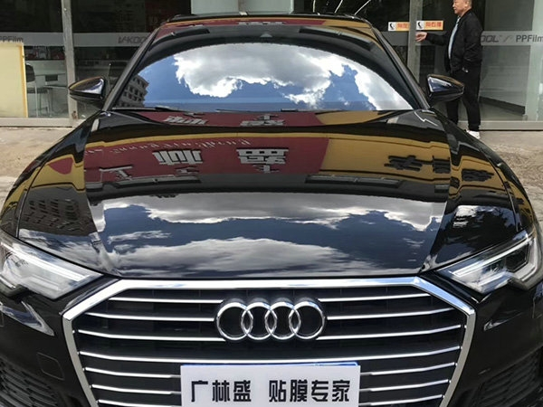 奥迪A6V-KOOL威固车漆保护膜